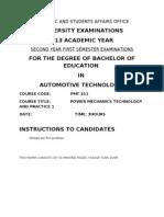 PMT 211 main exam.doc