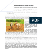 Helping Communities Boost Food Security in Eritrea