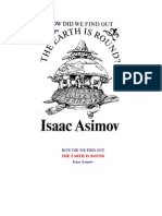 Asimov-How Did We Find Out the Earth is Round