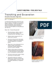 Tool Box Talk 2-07 Excavation Egress -OSHA