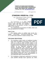 Methodology of Cotton, Wool & Silk procurement Policy of KVIC- (S.O. No. 1722) - Sukanya Kadyan