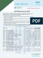 ASTM Standards 2012