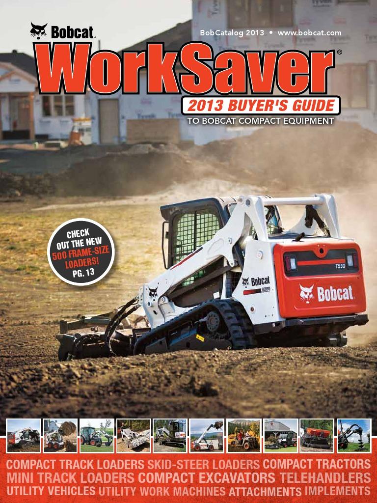 _2013_BobCatalog | Loader (Equipment) | Tractor