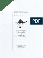 vii semana galega de filosofia - dossier de prensa