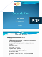 Premiere Partie Cours de C++Master1(2012-2013)