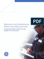 Field services for gas turbine