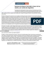 Spanish Larouchepac Com Tribunal Falla Contra Argentina