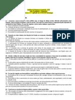 Prova - Analista de Finanças e Controle STN 2005
