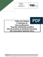 Cahier Des Charges Pavillon