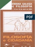 xxi semana galega de filosofia - dossier de prensa