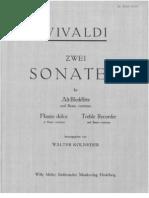 Vivaldi Zwei Sonaten