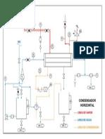 diagrama condensador horizontalJC