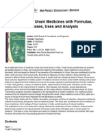 Handbook on Unani Medicines With Formulae, Processes, Uses and Analysis