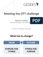 Meeting the OTT challenge