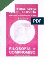 xx semana galega de filosofa