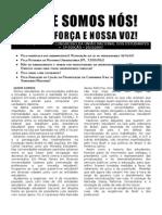 A UNE SOMOS NÓS - CONTRIBUIÇÃO AO 50º CONGRESSO DA UNIÃO NACIONAL DOS ESTUDANTES