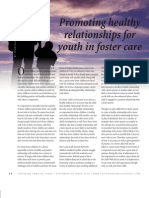 Promoting Healthy Relationships with Children in Foster Care