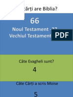 Câte cărți are Biblia ppt