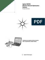 Agilent E6474A Wireless Network Optimization Platform Data Sheet