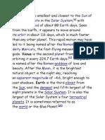 Solar Sytem