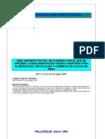 RD858-84 (T5) PRECOCINADOS