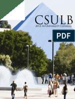 CSULB Catalog 2013-2014