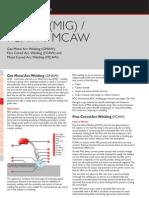 Gmaw Fcaw Mcaw Welding