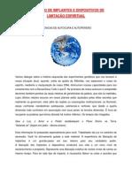 Artigo - Liberação de Implantes e Dispositivos de Limitação espiritual (13 pgs)_OK