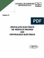 Instalatii electrice de servicii proprii din centralele electrice