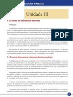 Geopolítica, Regionalização e Integração_Unidade III