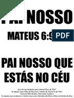 VERSÍCULO PARA DECORAR - PAI NOSSO