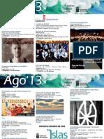 Agenda Cultural Canarias 27ago-1sep