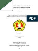 SKRIPSI Sistem Informasi Geografis Gianyar