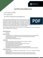 13-08-27 ROCCAT Praktikant PR Social Media Offer DE