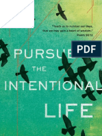 Pursue The Intentional Life Sample