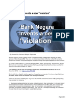 Bank Negara Invents a New Violation