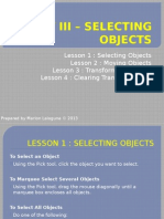 Unit III – Selecting Objects.pptx