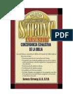 DICIONÁRIO BÍBLICO STRONG, LÉXICO HEBRAICO, ARAMAICO E GREGO EM PORTUGUÊS