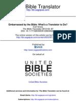 The Bible Translator 2012 Gross 87 94
