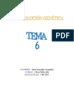 ¡¡La revolución genética!! tema 6