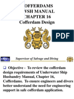 Cofferdams UWSH Manual CH16 - Cofferdam Design