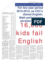 Education Feature - 16,000 kids fail English