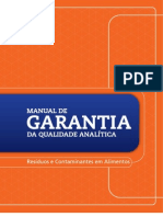 Manual de Garantia Analitica