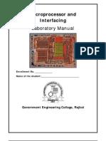 Microprocessor Lab Manual SEM IV 2013