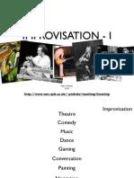 Improvisation i