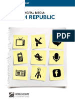 Czech Republic - Mapping Digital Media Report
