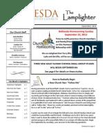 September 2013 Lamplighter