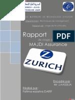 Mon Rapport de Stage Zurich 2