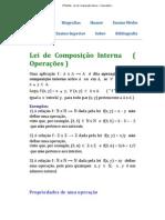 HPdeMat - Lei de Composição Interna ( Operações )