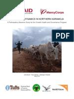 Livelihood Dynamics in Northern Karamoja